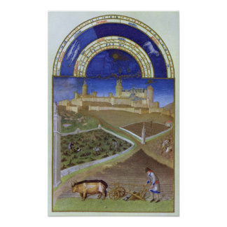 Fascimile of March: Peasants at Work Poster