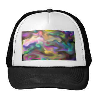 fascinating fluid mesh hat