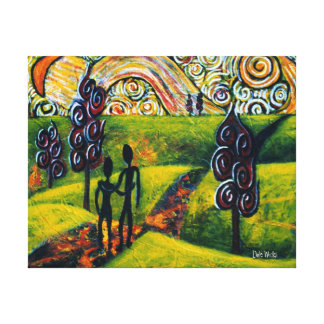 Fascinating Journey Canvas Print