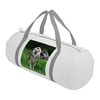 fascinating Owl Gym Duffel Bag