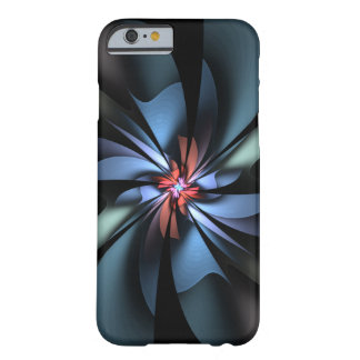 Fascination Abstract Light Blue and Green Barely There iPhone 6 Case