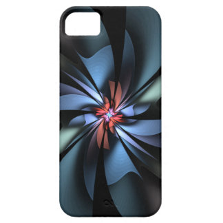 Fascination Blue and Green Abstract iPhone 5 Case