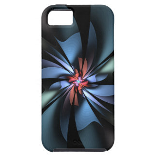 Fascination Light Blue Abstract iPhone 5 Case