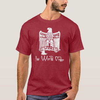 Fascist Eagle - New World Order T-shirt