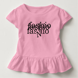 fashio N ruffle tee by DAL