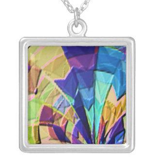 Fashio Trends by NAVIN JOSHI Square Pendant Necklace