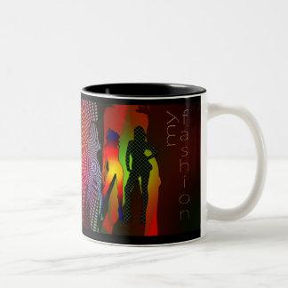 fashion-212464 fashion girl woman silhouette model coffee mug