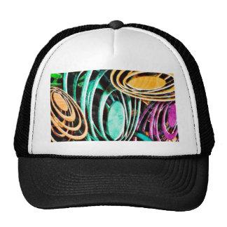 Fashion Art Solid Shiny Royal Rich Art Design Patt Cap