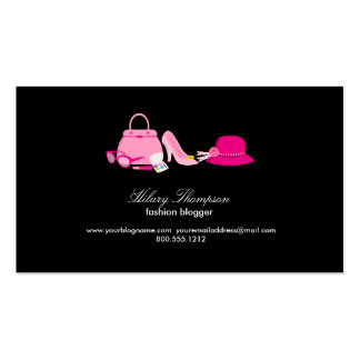 Fashion Blogger Calling Cards Pack Of Standard Business Cards