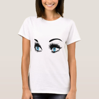 Fashion Blue Eyes T-Shirt