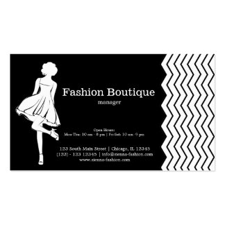 Fashion Boutique Pack Of Standard Business Cards