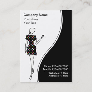 Fashion women model business cards zazzle au fashion business cards reheart Gallery