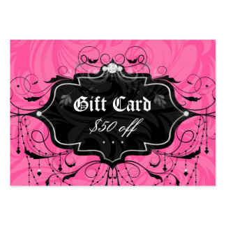 Fashion Chandelier Leaf Jewelry Gift Card Business Card