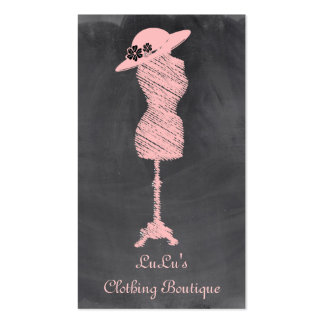 Fashion Clothing Store Boutique Business Card