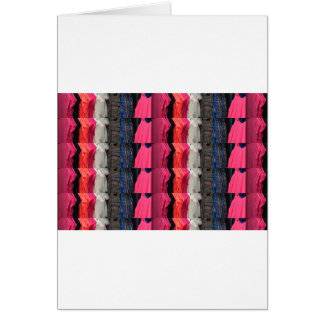 Fashion Colorful pattern print template add text Card