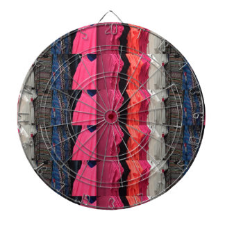 Fashion Colorful pattern print template add text Dart Boards
