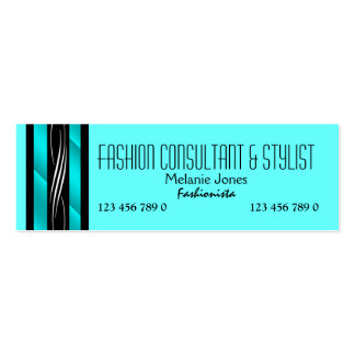 Fashion consultant stylist shopper PERSONALIZE Business Card Templates