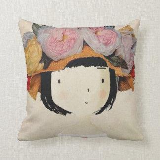 Fashion cover art cushion