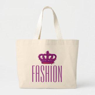 Fashion Crown Jumbo Tote Jumbo Tote Bag