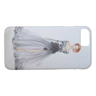 Fashion design in grey iPhone 8/7 case
