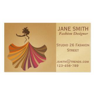 Fashion Designer freelance professional Pack Of Standard Business Cards