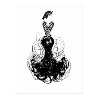Fashion Diva Post Cards