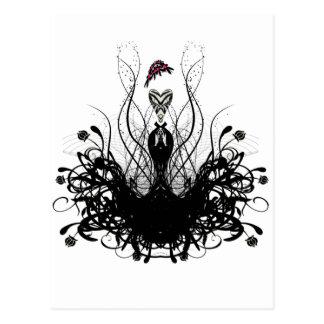 Fashion Diva Post Card