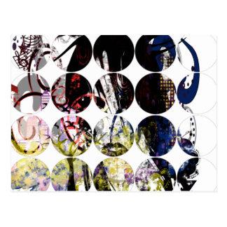 Fashion Diva Swirled Postcards