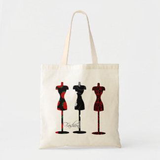 Fashion Dress Forms Canvas Bags