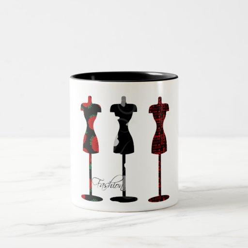 Fashion Dress Forms Mugs