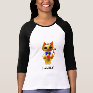 Fashion Family Golden Cat T-Shirt