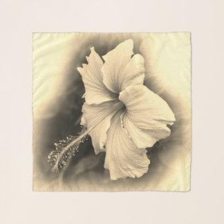 Fashion flower scarf