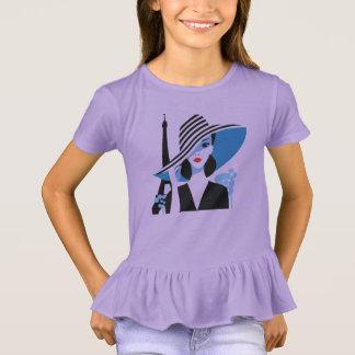 Fashion french stylish cool chic illustration T-Shirt