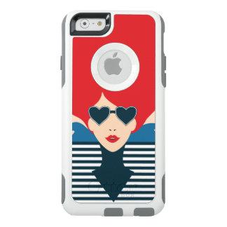 Fashion french stylish fashion chic illustration OtterBox iPhone 6/6s case