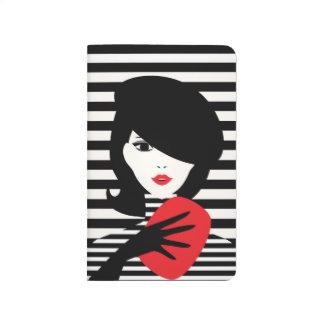 Fashion french stylish fashion illustration journal