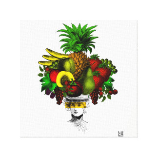 Fashion fruits canvas print