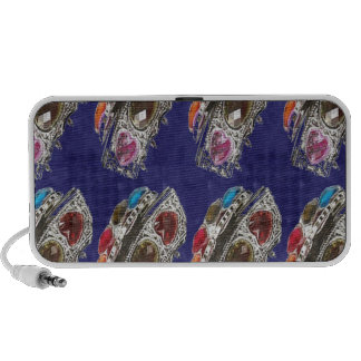 FASHION Gifts Jewels America NewJersey Trend Shade Laptop Speakers