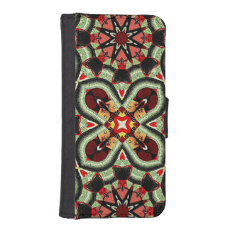 Fashion Girl Collage Phone Wallet Cases