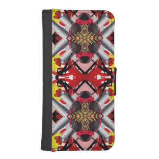 Fashion Girl Collage Phone Wallets