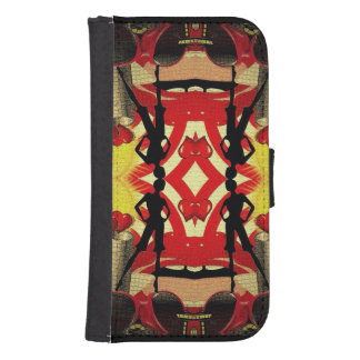 Fashion Girl Collage Galaxy S4 Wallets