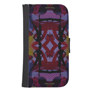 Fashion Girl Collage Galaxy S4 Wallet
