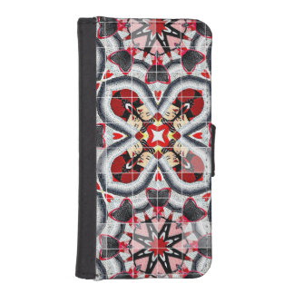 Fashion Girl Collage iPhone 5 Wallets