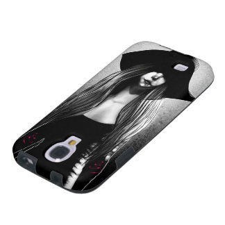 Fashion Girl in a Hat - Galaxy S6 Case