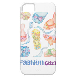 Fashion Girl iPhone SE or iPhone 5/5S case cover