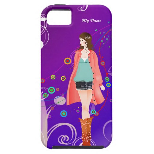 Fashion Girl Style #8 | iPhone 5 Covers