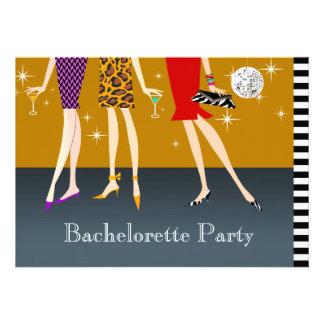 Fashion Girls Bachelorette Party Personalized Announcement