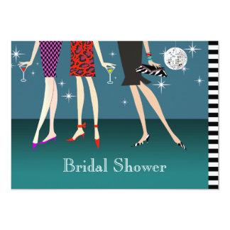 Fashion Girls Party Bridal Shower Card