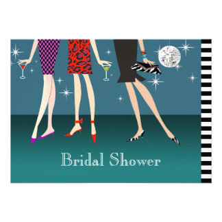 Fashion Girls Party Bridal Shower Personalized Invite