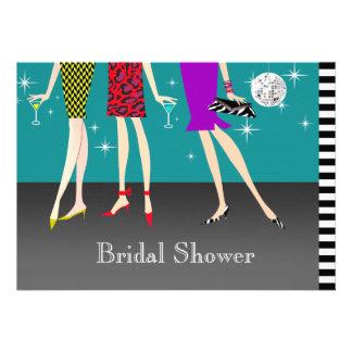 Fashion Girls Party Bridal Shower Personalized Invitation