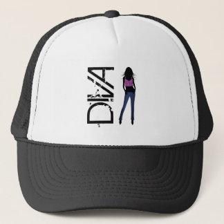 Fashion Girls Posing Model Diva Blue Jeans Hat